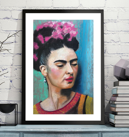 'Frida' ART PRINTS by Marta Hutt