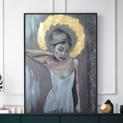'Halo' ART PRINTS by Marta Hutt