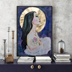 'Harvest Moon' ART PRINTS by Marta Hutt