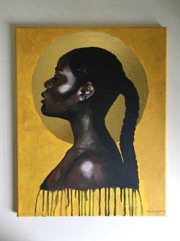 ORIGINAL ARTWORK 'Sun Goddess' by Marta Hutt