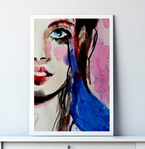 'Jess' ART PRINTS by Marta Hutt