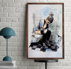 'Shit Art' ART PRINTS by Marta Hutt