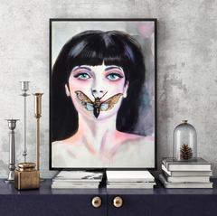 'Silence' ART PRINTS by Marta Hutt