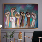 'Together We Rise' ART PRINTS by Marta Hutt