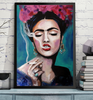 'Smoking Frida' ART PRINTS by Marta Hutt