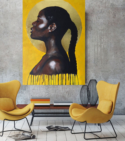 'Sun Goddess' CANVAS by Marta Hutt