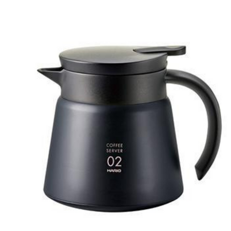 Hario V60 Insulated Stainless Steel Server 600 - Black