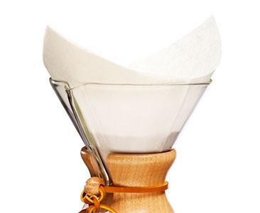 Chemex White Squares Coffee Filters 100pc