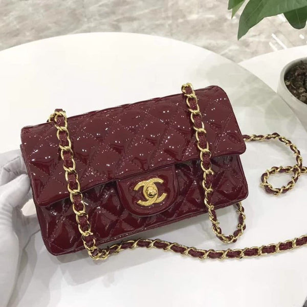 CHANEL CLASSIC FLAP HANDBAG MINI