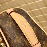LOUIS VUITTON® Small Cosmetic Monogram Leather Bag