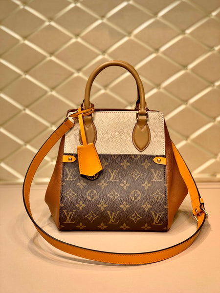 LOUIS VUITTON® Small Tote Monogram Leather