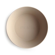 Load image into Gallery viewer, 'Vanilla' Round Bowl, set of 2 | Mushie | IN STOCK