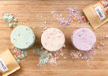 Load image into Gallery viewer, Sensory Play Bundle | 'Birthday Cloud Dough' Kit + Mushie Stacking Cups