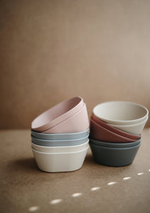 'Blush' Square Bowl, set of 2 | Mushie | SOLD OUT