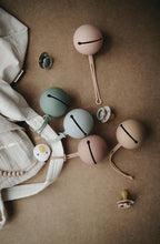 Load image into Gallery viewer, Pacifier Case 'Pale Taupe' | Mushie | IN STOCK