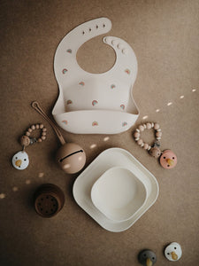 Pacifier Case 'Pale Taupe' | Mushie | IN STOCK