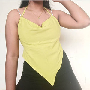 Cowl Neck Backless Top - ReThought