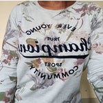 Load image into Gallery viewer, Max Vintage Floral Sweatshirt - ReThought