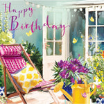 'A SUNNY CORNER' Birthday Card Cards ABF The Soldiers' Charity Shop