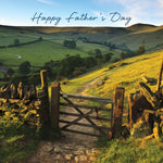 'HAPPY FATHER'S DAY' Countryside Card Cards ABF The Soldiers' Charity Shop
