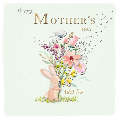 'WITH LOVE' Mother's Day Card Cards ABF The Soldiers' Charity Shop