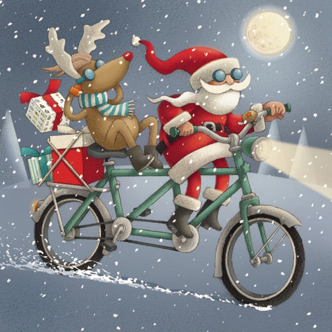 A bicycle made for two & Operation Christmas Pack of 10 ABF The Soldiers' Charity Shop