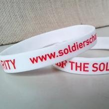 ABF The Soldiers' Charity Wristband (white) Accessories ABF The Soldiers' Charity On-line Store