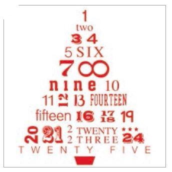 Advent Tree Christmas Card - Pack of 10 ABF The Soldiers' Charity Shop