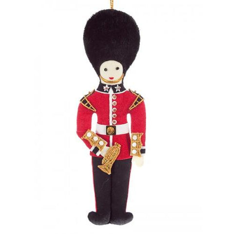 Bandsman with Bugle Christmas Decoration ABF The Soldiers' Charity Shop