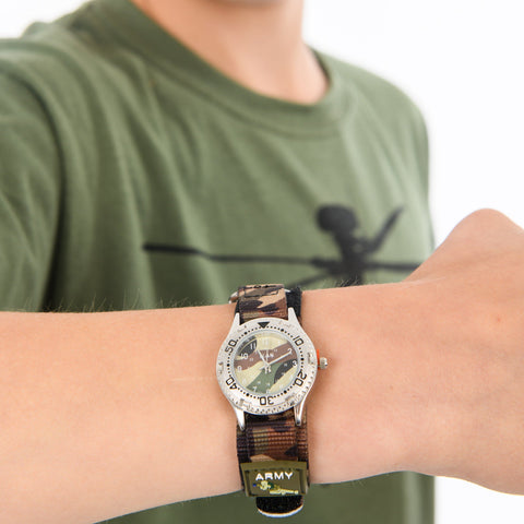 Child's Camouflage Watch