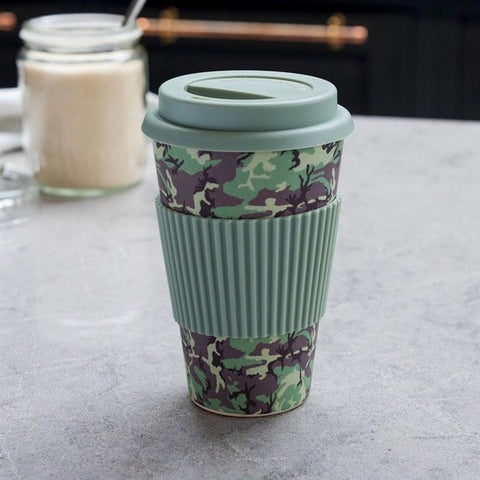 Camouflage Bamboo Travel Mug ABF The Soldiers' Charity Shop