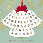 Cap Badge Bells Christmas Cards Pack of 10 Cards ABF The Soldiers' Charity Shop