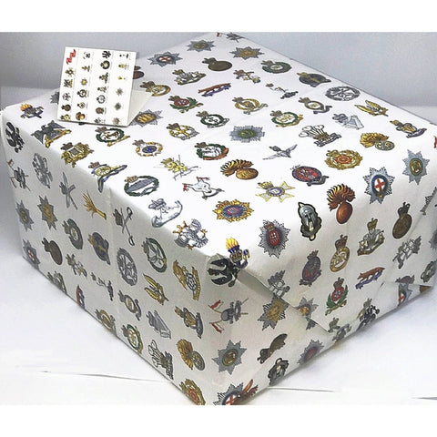 Cap Badge Giftwrap Set ABF The Soldiers' Charity Shop