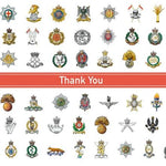 Cap Badge Thank You Cards Stationery ABF The Soldiers' Charity On-line Store