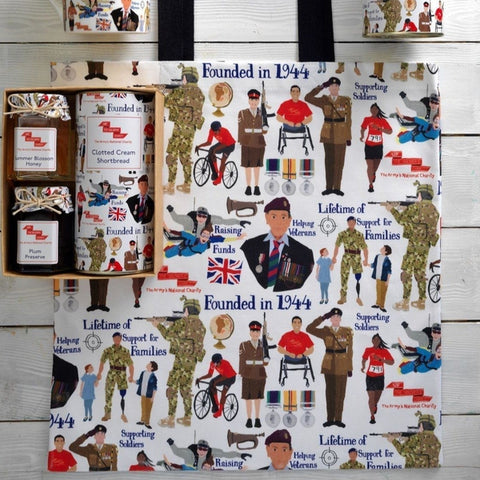 Designed by Esther Canvas Bag ABF The Soldiers' Charity Shop