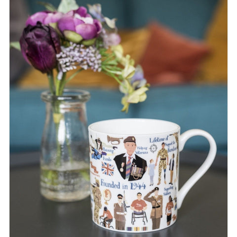Designed by Esther Mug Accessories ABF The Soldiers' Charity Shop