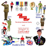 Designed by Esther Shortbread ABF The Soldiers' Charity Shop