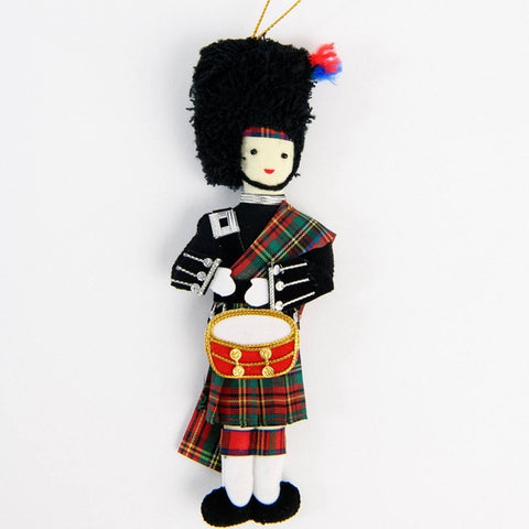 Highland Drummer Christmas Decoration ABF The Soldiers' Charity Shop