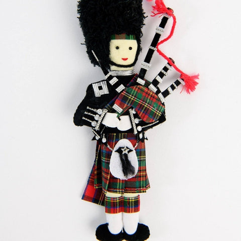 Highland Piper Christmas Decoration ABF The Soldiers' Charity Shop