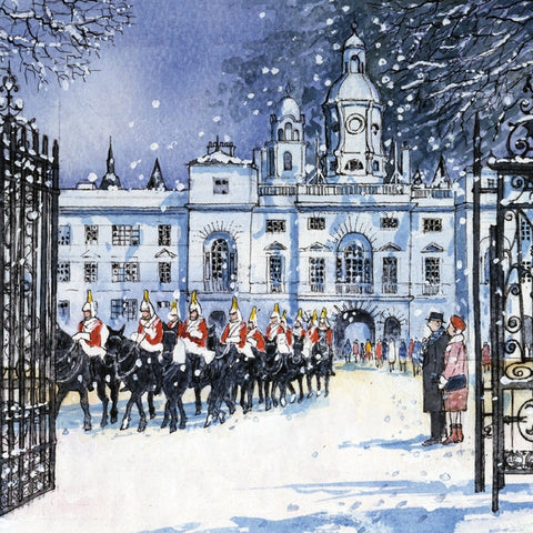 Horseguards Christmas Cards Pack of 10 Cards ABF The Soldiers' Charity Shop