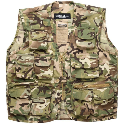 Kids Camouflage Tactical Vest BTP ABF The Soldiers' Charity Shop