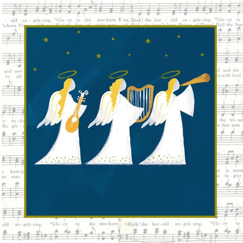 Musical Trio Christmas Cards Pack of 10 Cards ABF The Soldiers' Charity Shop