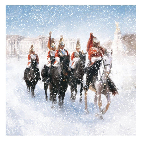 Procession in the Snow Christmas Cards Pack of 10 Cards ABF The Soldiers' Charity Shop