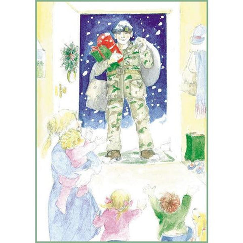 Returning Home Christmas Card Cards ABF The Soldiers' Charity On-line Store