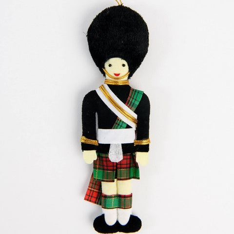 Scots Guard Christmas Decoration ABF The Soldiers' Charity Shop