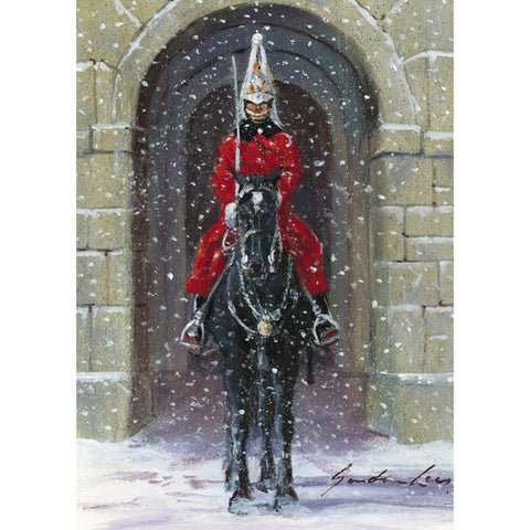 Sentry in the Snow Christmas Cards Pack of 10 Cards ABF The Soldiers' Charity Shop