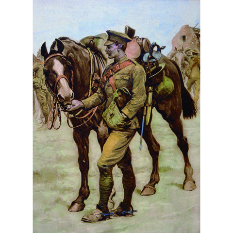 Sharing Rations Christmas Cards Pack of 10 Cards ABF The Soldiers' Charity Shop