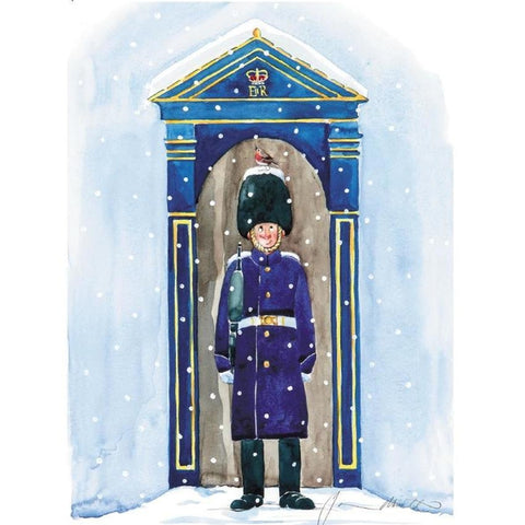 The Soldier and Robin Christmas Cards Pack of 10 Cards ABF The Soldiers' Charity Shop