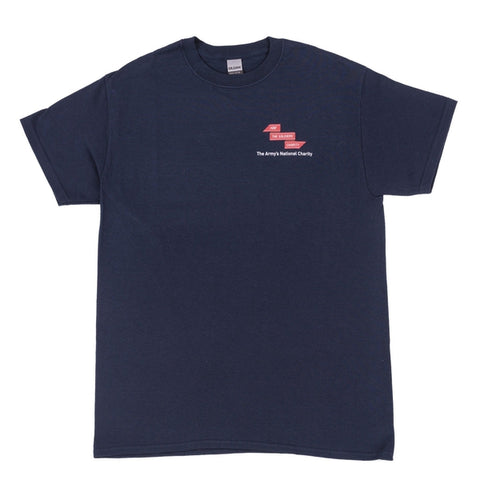 The Soldiers' Charity T-Shirt (Navy) Clothing ABF The Soldiers' Charity On-line Store