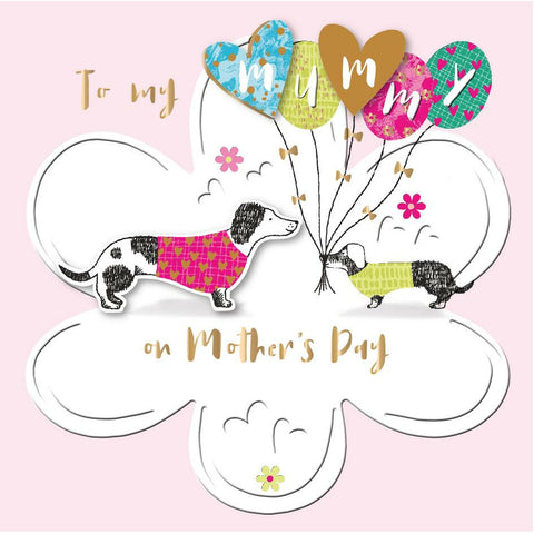 'TO MY MUMMY' Mother's Day Card Cards ABF The Soldiers' Charity Shop